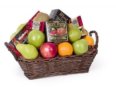 Fruit & Goodies Basket
