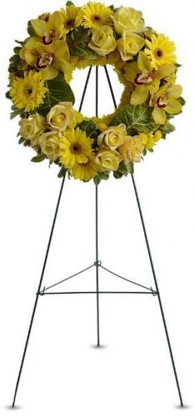 tribute wreath, sympathy flowers, sympathy floral wreath, funeral wreath