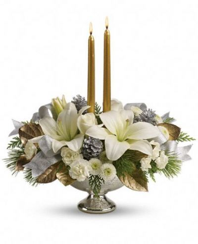 Silver and Gold Centrepiece
