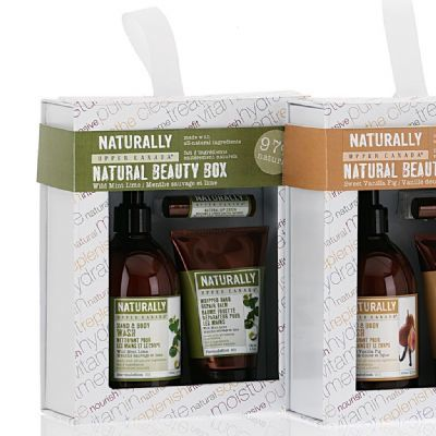 Naturally - Wild Mint & Lime Beauty Box