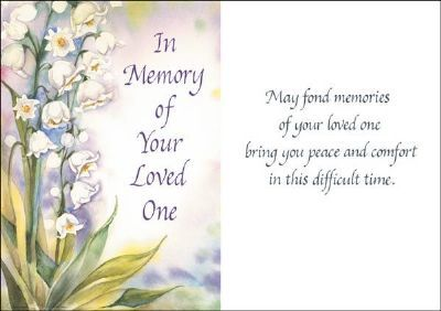 In Memory of Your Loved One