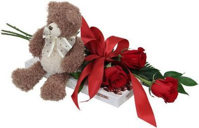 teddy bear rose delivery toronto